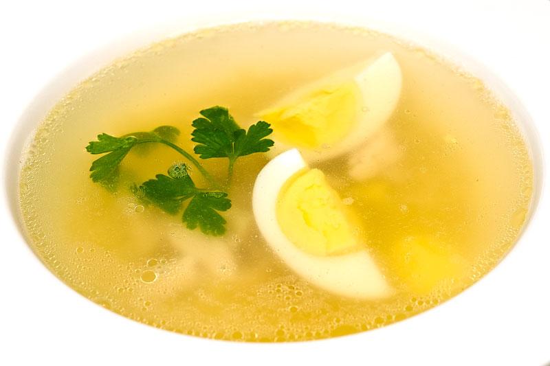 Бульон куриный с лапшой и яйцом рецепт с пошагово